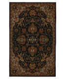 RugStudio presents Karastan Crossroads Duval Black 38260-15110 Machine Woven, Good Quality Area Rug