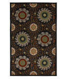 RugStudio presents Karastan Crossroads Davina Black 38260-15114 Machine Woven, Good Quality Area Rug
