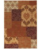 RugStudio presents Karastan Studio - Carmel Pescadero Ginger 74700-13108 Machine Woven, Good Quality Area Rug