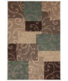 RugStudio presents Karastan Studio - Carmel San Luis Slate 74700-13117 Machine Woven, Good Quality Area Rug
