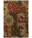 RugStudio presents Karastan Studio - Carmel Monte Vista Crimson 74700-13124 Machine Woven, Good Quality Area Rug