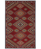 RugStudio presents Karastan Woolrich Founder's Point Garnet Machine Woven, Good Quality Area Rug