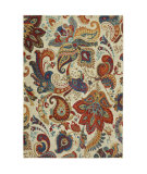 RugStudio presents Karastan Intermezzo Paisley Stencil Croissant Machine Woven, Good Quality Area Rug