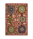 RugStudio presents Karastan Intermezzo Khiva Tomatillo Red Machine Woven, Good Quality Area Rug