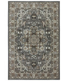 RugStudio presents Karastan Euphoria Rhodes Ash Grey Machine Woven, Good Quality Area Rug