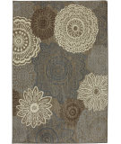 RugStudio presents Karastan Euphoria Mossat Brown Machine Woven, Good Quality Area Rug