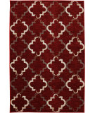 RugStudio presents Karastan Panache Bravo Trellis Tomatillo Red Machine Woven, Good Quality Area Rug
