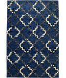 RugStudio presents Karastan Panache Bravo Trellis Indigo Machine Woven, Good Quality Area Rug