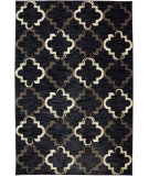 RugStudio presents Karastan Panache Bravo Trellis Black Machine Woven, Good Quality Area Rug