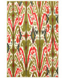 RugStudio presents Karastan Panache Archipelago Plantation Green Woven Area Rug