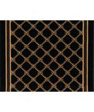 RugStudio presents Karastan American Treasures Coventry Trellis 2120R-530 Black Machine Woven, Good Quality