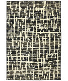RugStudio presents Karastan Panache Grasscloth Black Woven Area Rug