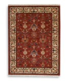 RugStudio presents Karastan English Manor William Morris Red Machine Woven, Good Quality Area Rug