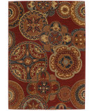 RugStudio presents Karastan English Manor Chesterfield Red Machine Woven, Good Quality Area Rug