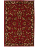 RugStudio presents Karastan Knightsen Walnut Park Red Machine Woven, Good Quality Area Rug
