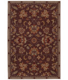 RugStudio presents Karastan Knightsen Westridge Taupe Plum Machine Woven, Good Quality Area Rug