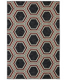 RugStudio presents Karastan Panache Honey Queen Black Woven Area Rug