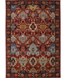 RugStudio presents Karastan Bravado Mahir Red Machine Woven, Good Quality Area Rug