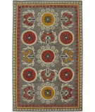 RugStudio presents Karastan Charisma Palma Burgundy Hand-Tufted, Good Quality Area Rug