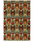 RugStudio presents Karastan Panache Switchback Sagebrush Green Woven Area Rug