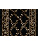 RugStudio presents Karastan American Treasures William Morris Lattice Black 2120R-531 Machine Woven, Good Quality