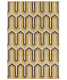 RugStudio presents Karastan Panache Willis Tower Golden Rod Creme Brulee Woven Area Rug