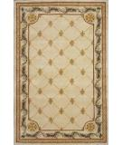 RugStudio presents Rugstudio Famous Maker 39152 Antique Ivory Hand-Tufted, Better Quality Area Rug