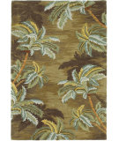 RugStudio presents KAS Sparta Palm Trees Moss 3102 Hand-Tufted, Better Quality Area Rug