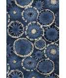 RugStudio presents Kas Allure 4050 Blue Hand-Tufted, Good Quality Area Rug
