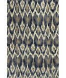 RugStudio presents Kas Allure 4057 Ivory / Grey Hand-Tufted, Good Quality Area Rug