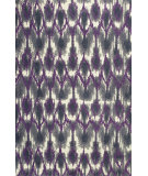 RugStudio presents Kas Allure 4058 Grey / Purple Hand-Tufted, Good Quality Area Rug