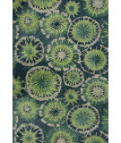 RugStudio presents Kas Allure 4060 Green Hand-Tufted, Good Quality Area Rug