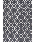 RugStudio presents KAS Allure 4067 Charcoal Fiore Hand-Tufted, Good Quality Area Rug