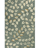 RugStudio presents Kas Anise 2405 Grey Hand-Hooked Area Rug