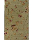 RugStudio presents KAS Ankara Zen Garden 3804 Sage Hand-Tufted, Good Quality Area Rug