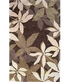 RugStudio presents Rugstudio Sample Sale 28489R Mocha-Sage 2813 Hand-Tufted, Good Quality Area Rug