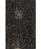 RugStudio presents Kas Bali Floral Chic Charcoal-Taupe 2816 Hand-Tufted, Good Quality Area Rug