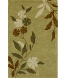 RugStudio presents Kas Bali Spa Floral Citrus 2820 Hand-Tufted, Good Quality Area Rug