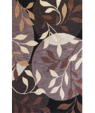 RugStudio presents Kas Bali 2807 Plum/Black Hand-Tufted, Good Quality Area Rug