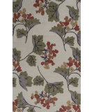 RugStudio presents KAS Bali 2860 Ivory Serendipity Hand-Tufted, Good Quality Area Rug