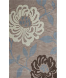 RugStudio presents KAS Bali 2862 Sand Silhouette Hand-Tufted, Good Quality Area Rug