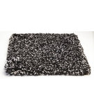 RugStudio presents Kas Bliss 1583 Black Heather Woven Area Rug