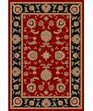 RugStudio presents Kas Cambridge Bijar Red-Black 7342 Machine Woven, Good Quality Area Rug