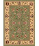 RugStudio presents Kas Cambridge Bijar Sage-Beige 7343 Machine Woven, Good Quality Area Rug