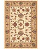 RugStudio presents Kas Cambridge Bijar Ivory-Beige 7344 Machine Woven, Good Quality Area Rug