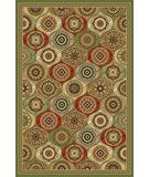 RugStudio presents Kas Cambridge Mosaic Panel Multi 7345 Machine Woven, Good Quality Area Rug