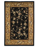 RugStudio presents Kas Cambridge 7336 Black/Beige Machine Woven, Good Quality Area Rug