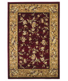 RugStudio presents Kas Cambridge 7337 Red/Beige Machine Woven, Good Quality Area Rug