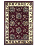 RugStudio presents Kas Cambridge 7340 Red/Ivory Machine Woven, Good Quality Area Rug
