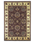 RugStudio presents Kas Cambridge 7341 Plum/Ivory Machine Woven, Good Quality Area Rug